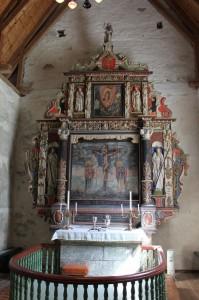 Altertavle Kinn kyrkje