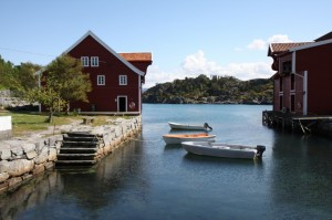Smørhamn Handelstad. Foto: Knut Magne Nesse
