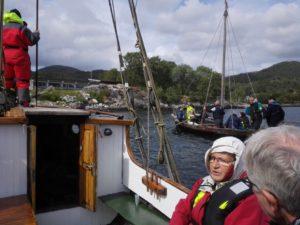 Båtskyss med båtlaget Over stokk og stein